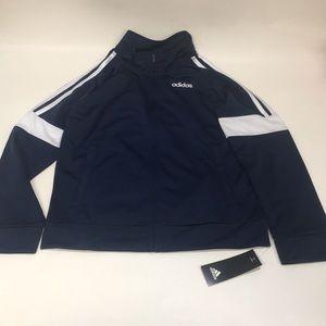 New Adidas Boys Tricot Jacket